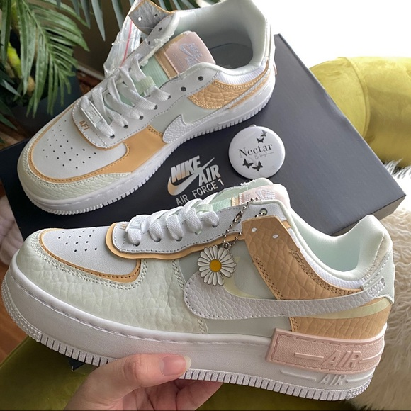 Nike Shoes Nike Air Force Shadow Spruce Aura Poshmark Check out the images below at a detailed look at the spruce aura nike air force 1 shadow. nike air force 1 shadow spruce aura